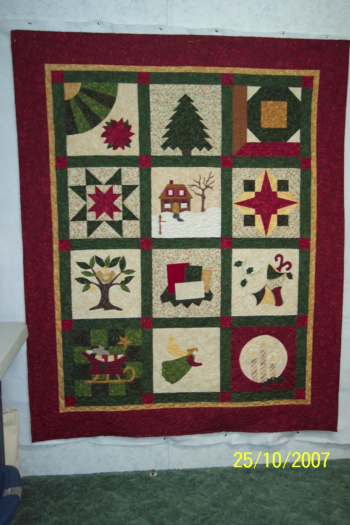 christmas longarm quilting patterns