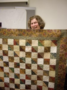 Judy's Charity Quilt