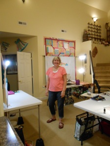 Hostess and owner of The Ponderosa Quilting Retreat - Kim Polson